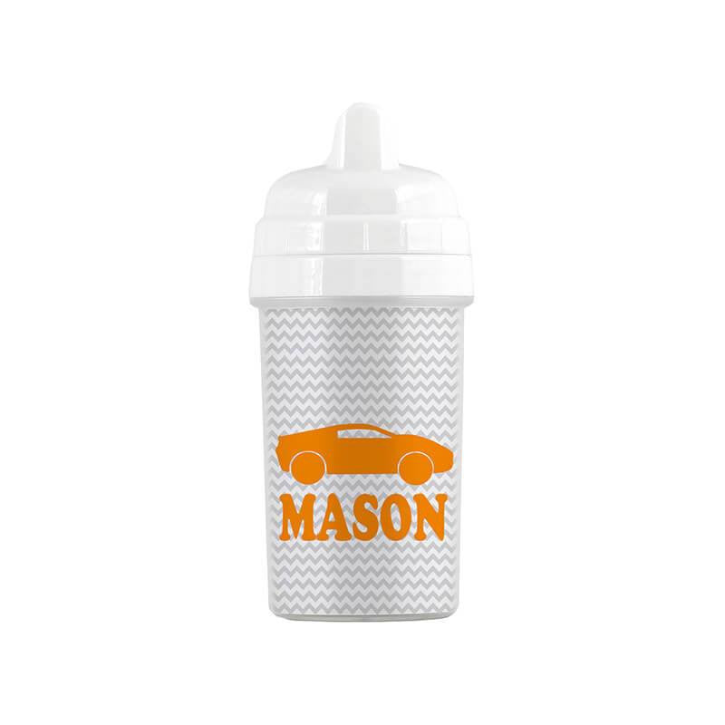 Personalized Race Car Sippy Cup