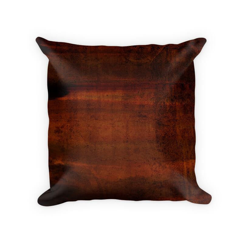 Stained Concrete Woven Cotton Throw Pillow