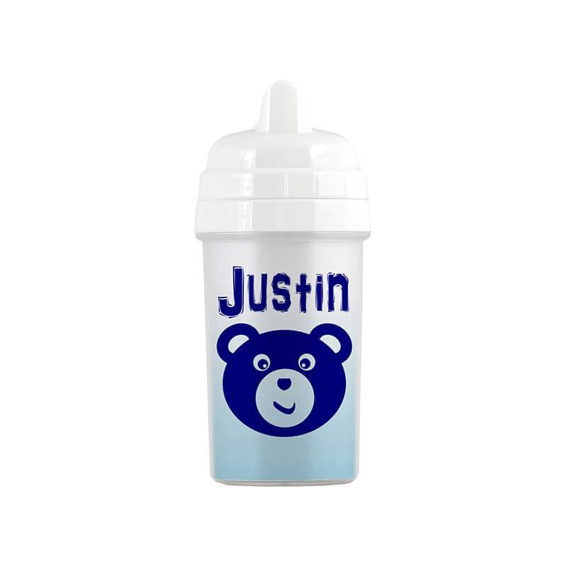 Personalized Teddy Bear Sippy Cup - WallLillies