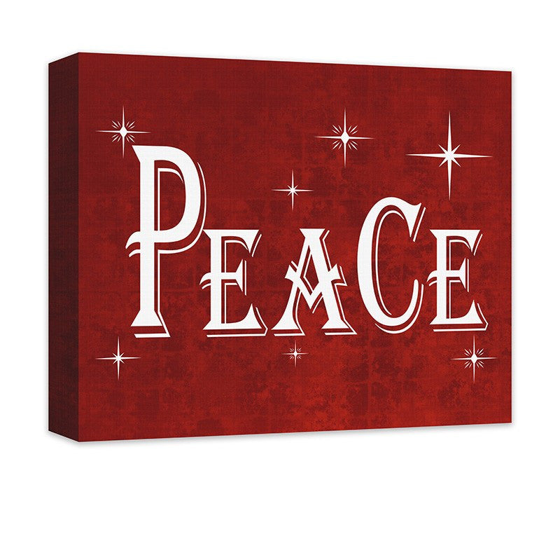 Peace I Canvas Wall Art