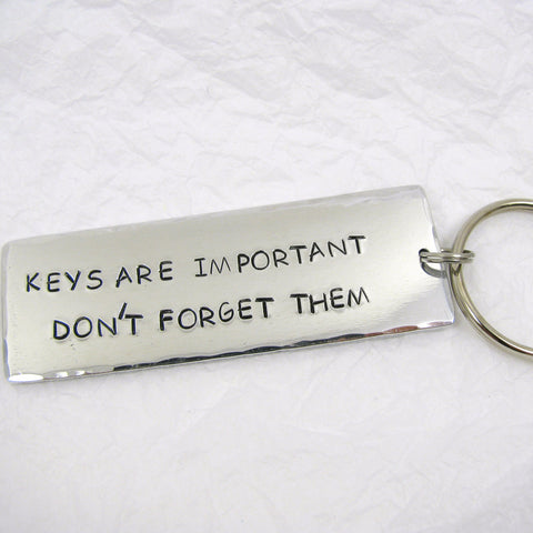 Personalized Aluminum Key Ring