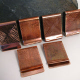 Copper Money Clip, Personalized money clip, Groomsmen Gift, Fathers Day, 7th Anniversary Gift, Birthday Gift
