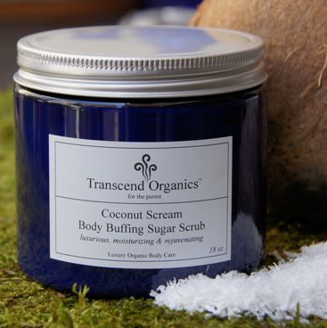 Coconut Scream Body Buffing Sugar Scrub