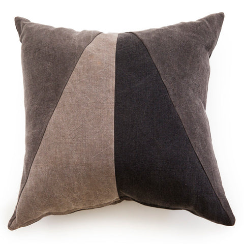Grey & Bark Pillow