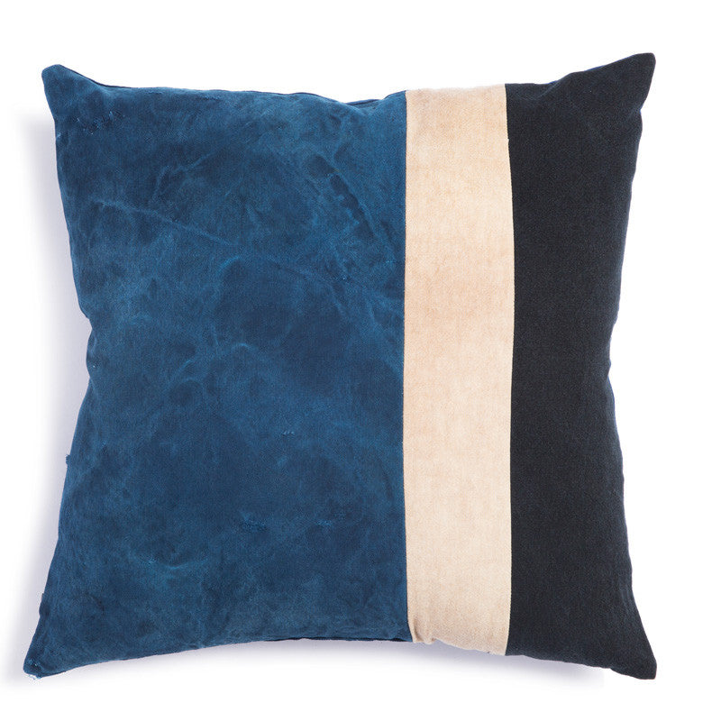 Indigo Mail Bag Pillow