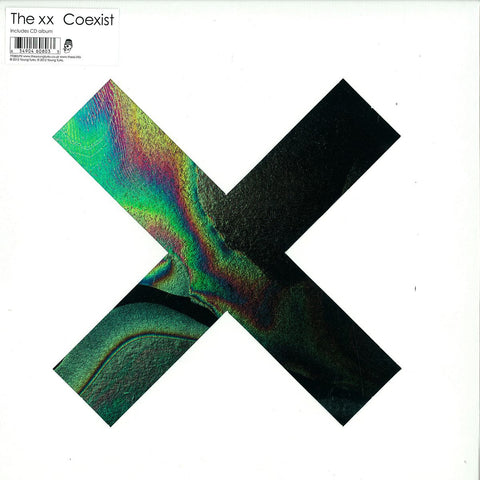 "The XX - Coexist 12""+CD YT080LPX Deluxe Limted Edition Young Turks"