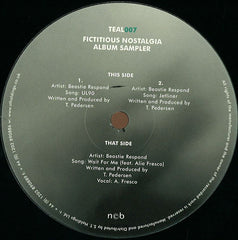 "Beastie Respond ‎– Fictitious Nostalgia LP Sampler 12"" Teal Recordings ‎– TEAL007"