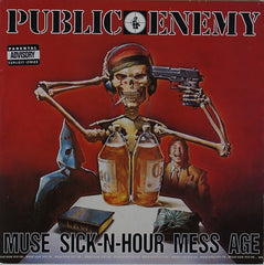 "Public Enemy - Muse Sick-N-Hour Mess Age 2x12"" Def Jam 523 362-1"