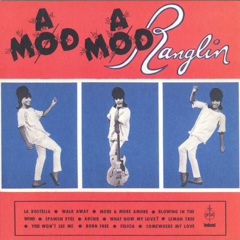 Ernie Ranglin ‎– A Mod A Mod Ranglin - Dub Store Records, Federal ‎– DSR-LP-506