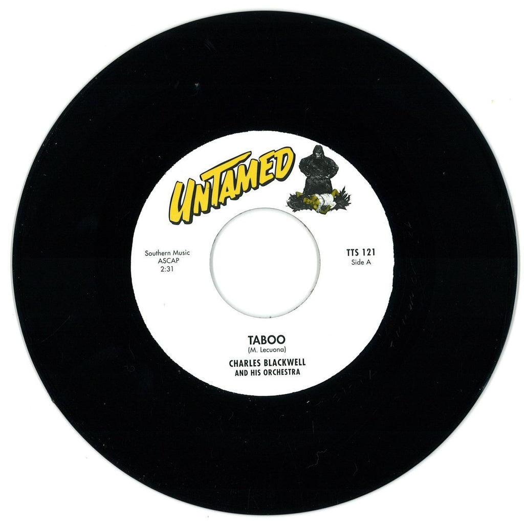 "Charles Blackwell And His Orchestra - Taboo 7"" TTS121 Tittyshakin"
