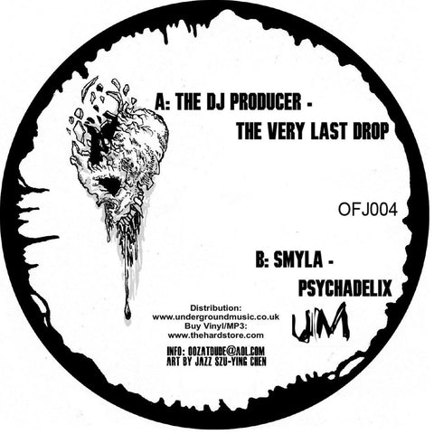 "The DJ Producer / Smyla - The Very Last Drop / Psychadelix 12"" OFJ004"