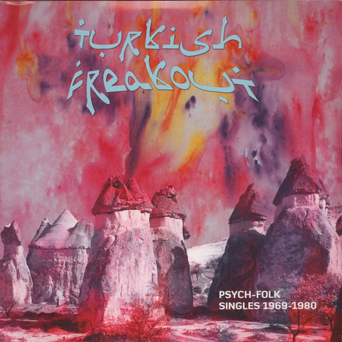 "Various - Turkish Freakout (Psych-Folk Singles 1969-80) 2x12"" BZJ7501 Bouzouki Joe Records"