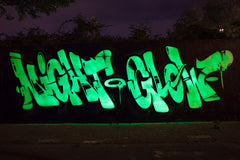 Nightglow - Montana Cans Gold Acrylic Spray - Nightglow luminescence-green effect paint 400ML
