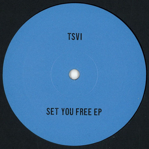 "Tsvi ‎– Set You Free EP 12"" Nervous Horizon ‎– NH002"