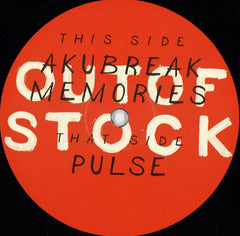 "Audiotheque & Sublee ‎– Outofstock #01 12"" OutOfStock ‎– OOS01"