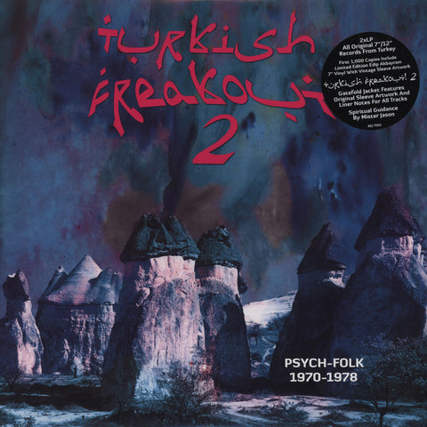 "Various - Turkish Freakout 2 (Psych-Folk 1970-1978) 2x12"" BZJ7502 Bouzouki Joe Records"