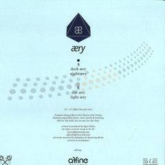 "Ogris Debris - Aery 12"" AFF004 Affine Records"