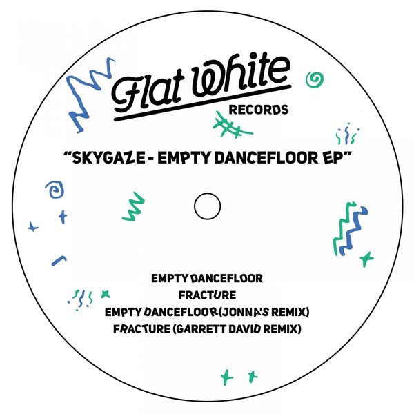 Skygaze ‎– Empty Dancefloor EP - Flat White Records (2) ‎– FW001