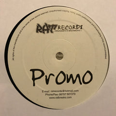 "DJ Quest ‎– Rat Sessions Vol.1 Sampler 12"" Rat Records ‎– RAT SESSIONS VOL 1"