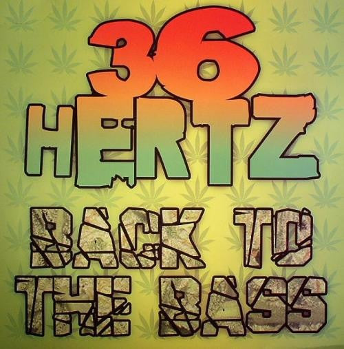 "Various - Back To The Bass 4x12"" 36 Hertz 36HTZLP001"