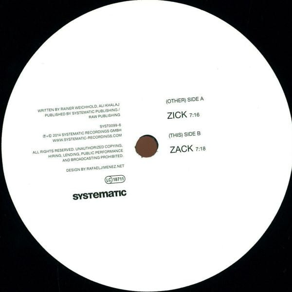 "Weichhold & Namito - Zick Zack 12"" Systematic SYST0099-6"