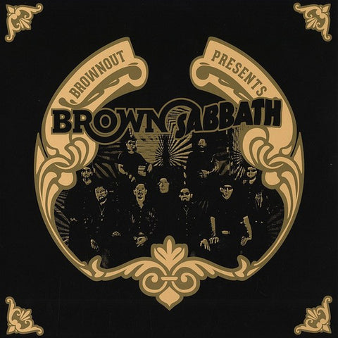 Brownout ‎– Brownout Presents Brown Sabbath - Ubiquity ‎– URLP336 LIMITED EDITION