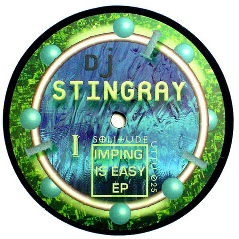 "Dj Stingray - Imping Is Easy EP 12"" Unknown To The Unknown ‎– UTTU_025"
