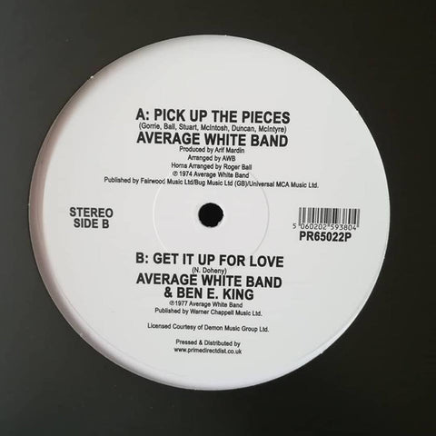 Average White Band ‎– Pick Up The Pieces - AWB – PR65022P