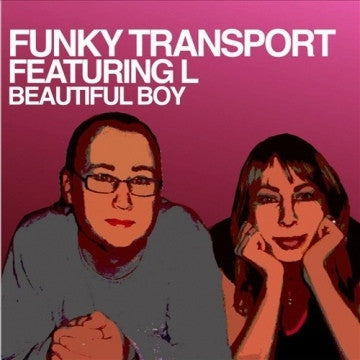 "Funky Transport - Beautiful Boy 12"" Eighth Dimension Records 8TH 017"
