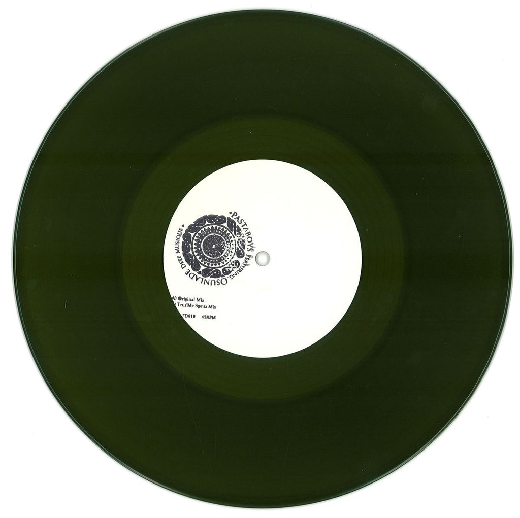 "Pastaboys Featuring Osunlade ‎– Deep Musique 10"" Rebirth ‎– REBLTD010"
