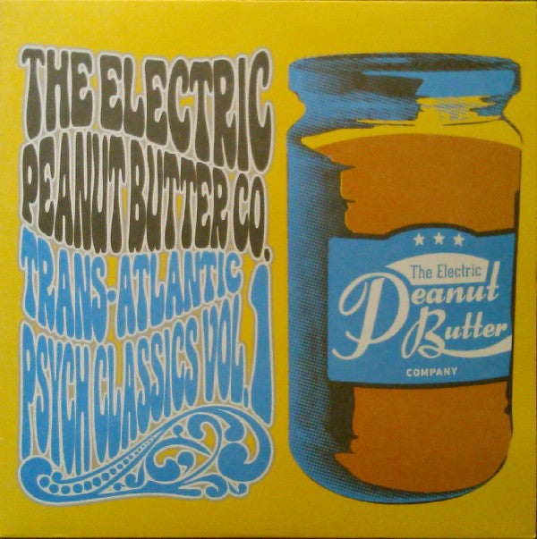 The Electric Peanut Butter Company ‎– Trans-Atlantic Psych Classics Vol. 1 - Ubiquity ‎– URLP341