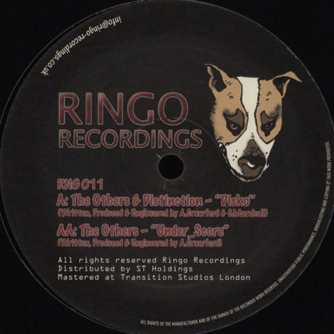 "The Others & Distinction - Disko / Under_Score 12"" Ringo Records ‎– RNG011"