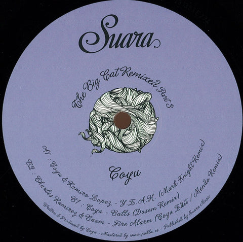 Coyu ‎– The Big Cat Remixed Part 3 - Suara ‎– Suara173