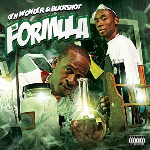 "9th Wonder & Buckshot ‎– The Formula 2x12"" Duck Down ‎– DDM LP 2070"