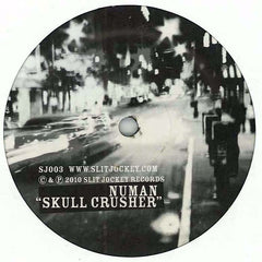 "Numan / SDUK - Skull Crusher / Clunge 12"" Slit Jockey Records SJ003"