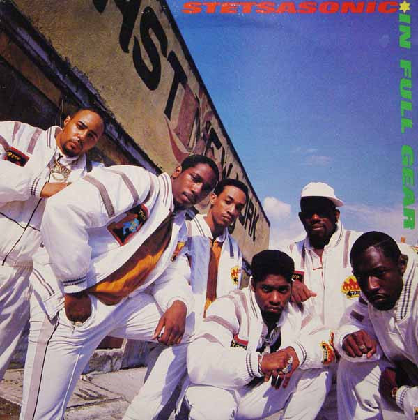 "Stetsasonic - In Full Gear 12"" AMA9001 LP A&M Records"