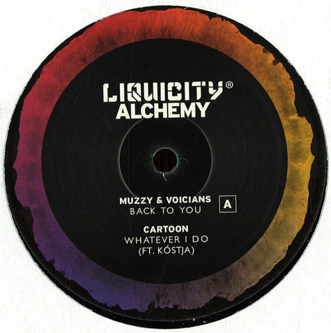 "Various ‎– Alchemy Sampler 12"" Liquicity Records ‎– LIQUICITY007V"
