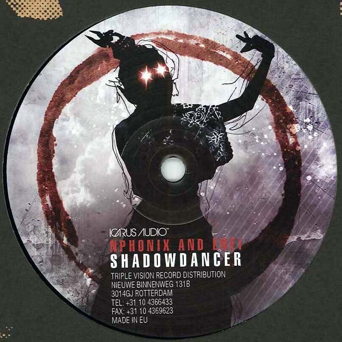 "Dabs Feat. Wrath / NPhonix And Enei - Who's Gonna Lead? / Shadowdancer 12"" Icarus Audio ICARUS003"