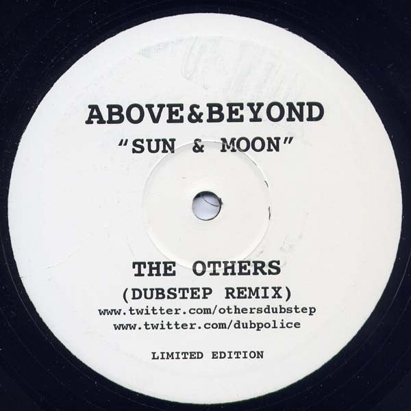 Above & Beyond Feat. Richard Bedford ‎– Sun & Moon (The Others Dubstep Remix) THEOTHERS001
