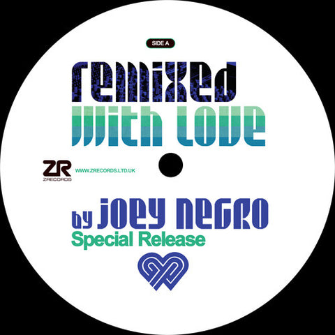 Various ‎– Remixed With Love By Joey Negro - Z Records ‎– ZEDD12257X