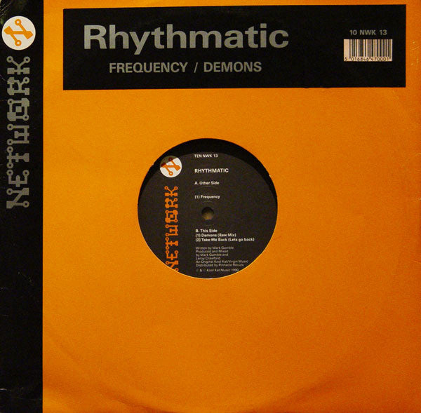Rhythmatic Frequency Demons 10 Quot Network Records Ten