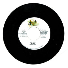 "Beenie Man - Wine Gal (Triple X Riddim) 7"" Pleasure Time Records"