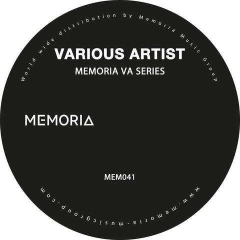"Various ‎– Memoria Va Series 12"" Memoria Recordings ‎– MEM041"
