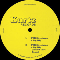 PBR StreetGang ‎– Big Wig - Kurtz Records ‎– KTZ 001