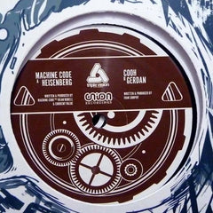 "Machinecode / Cooh - Heisenberg / Gerdan 12"" Union Recordings UNION 002"