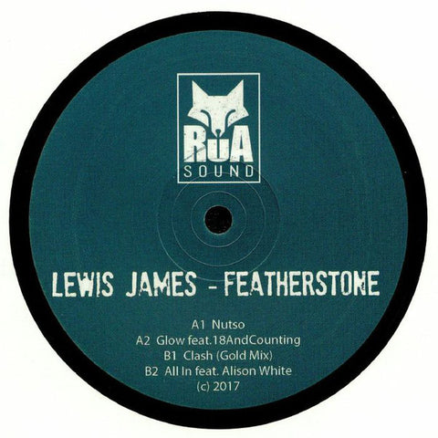 "Lewis James - Featherstone EP 12"" Rua Sound ‎– RUA005"
