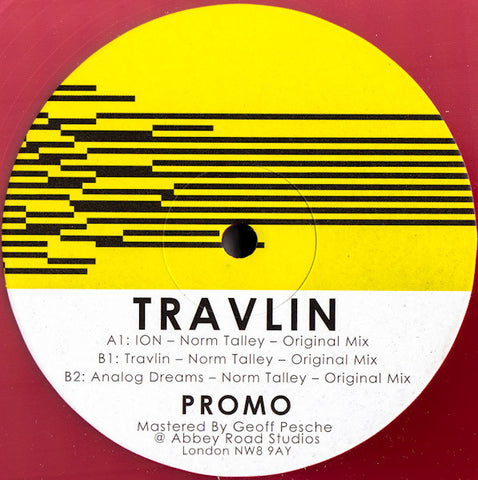 "Norm Talley ‎– Travlin 12"" RED Landed Records ‎– LANDEDREC005"