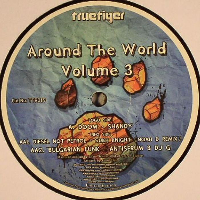 "Various - Around The World Volume 3 12"" True Tiger Recordings TTR019"