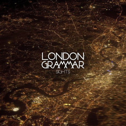 "London Grammar ‎– Sights 7"" Metal & Dust Recordings ‎– MAD007T"