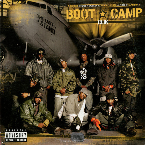 "Boot Camp Clik ‎– The Last Stand 2x12"" Duck Down ‎– DDM LP 2035"
